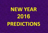 New Year 2016 Predictions