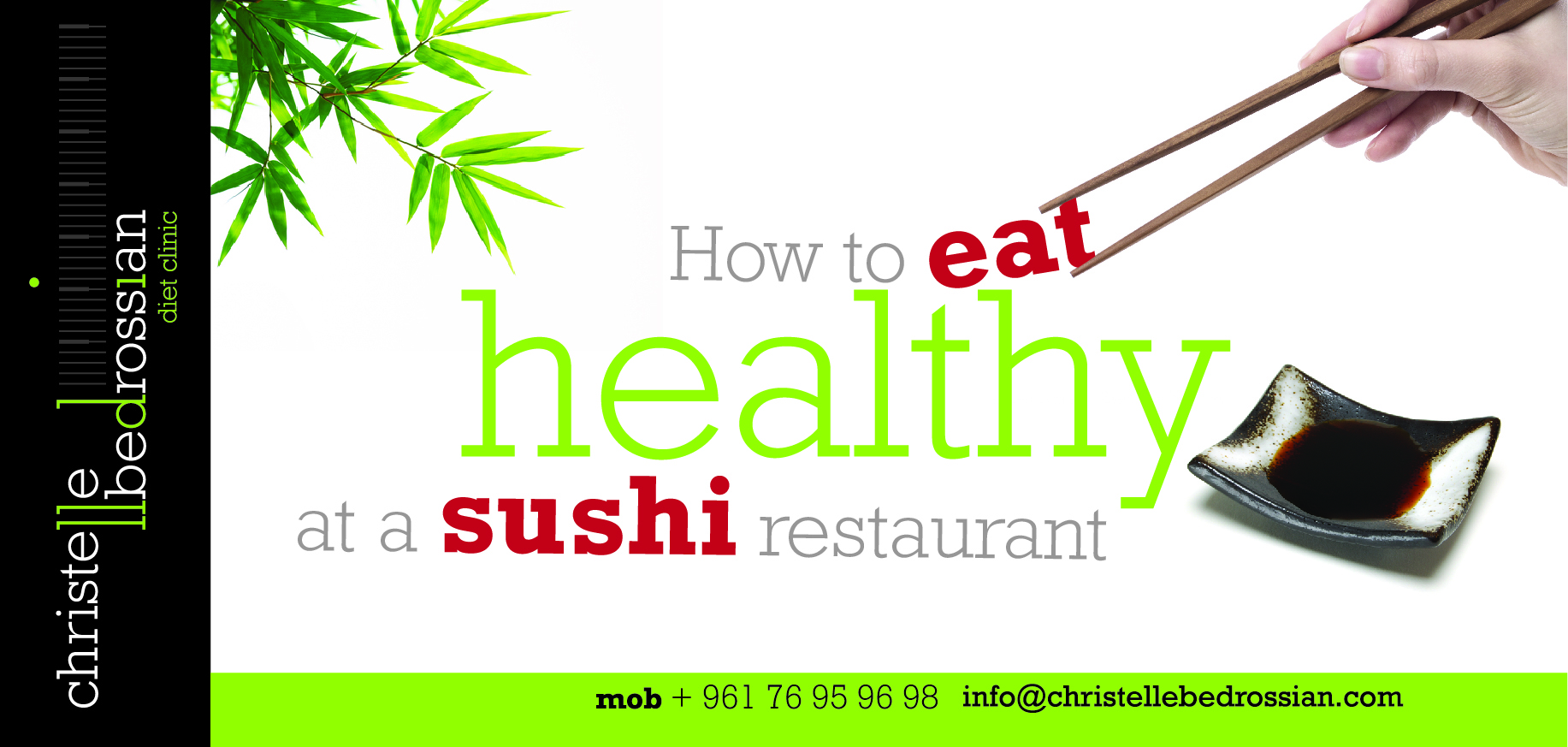 safest fish to eat sushi lose weight
