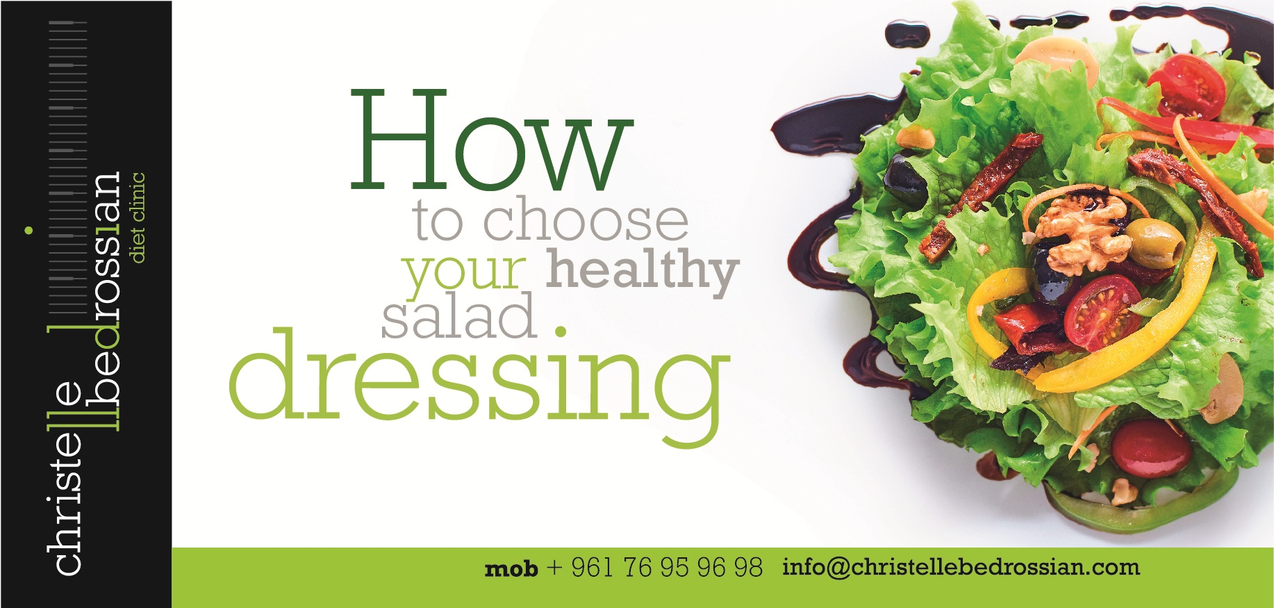 best dietitian lebanon, lebanon, diet, diet clinic, lose weight lebanon, health , salad , dressing
