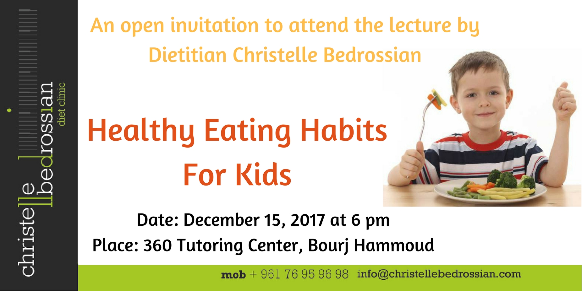 best dietitian lebanon, lebanon, diet, diet clinic, health tips, kids, healthy lifestyle , conference