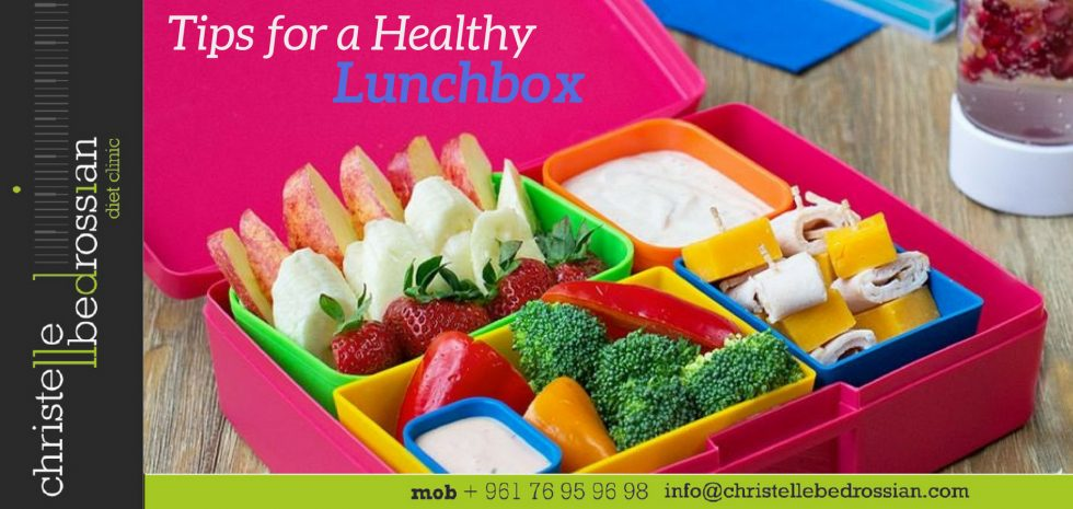 best dietitian lebanon, lebanon, diet, health, kids, children, lunchbox, tips, nutrition
