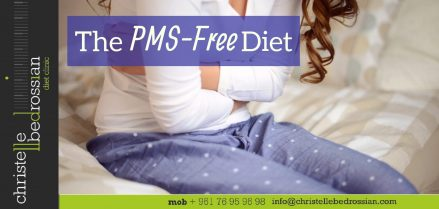 best dietitian lebanon, lebanon, health, healthy tips, PMS-free diet, diet