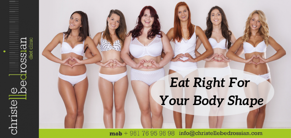 eat right for your body shape