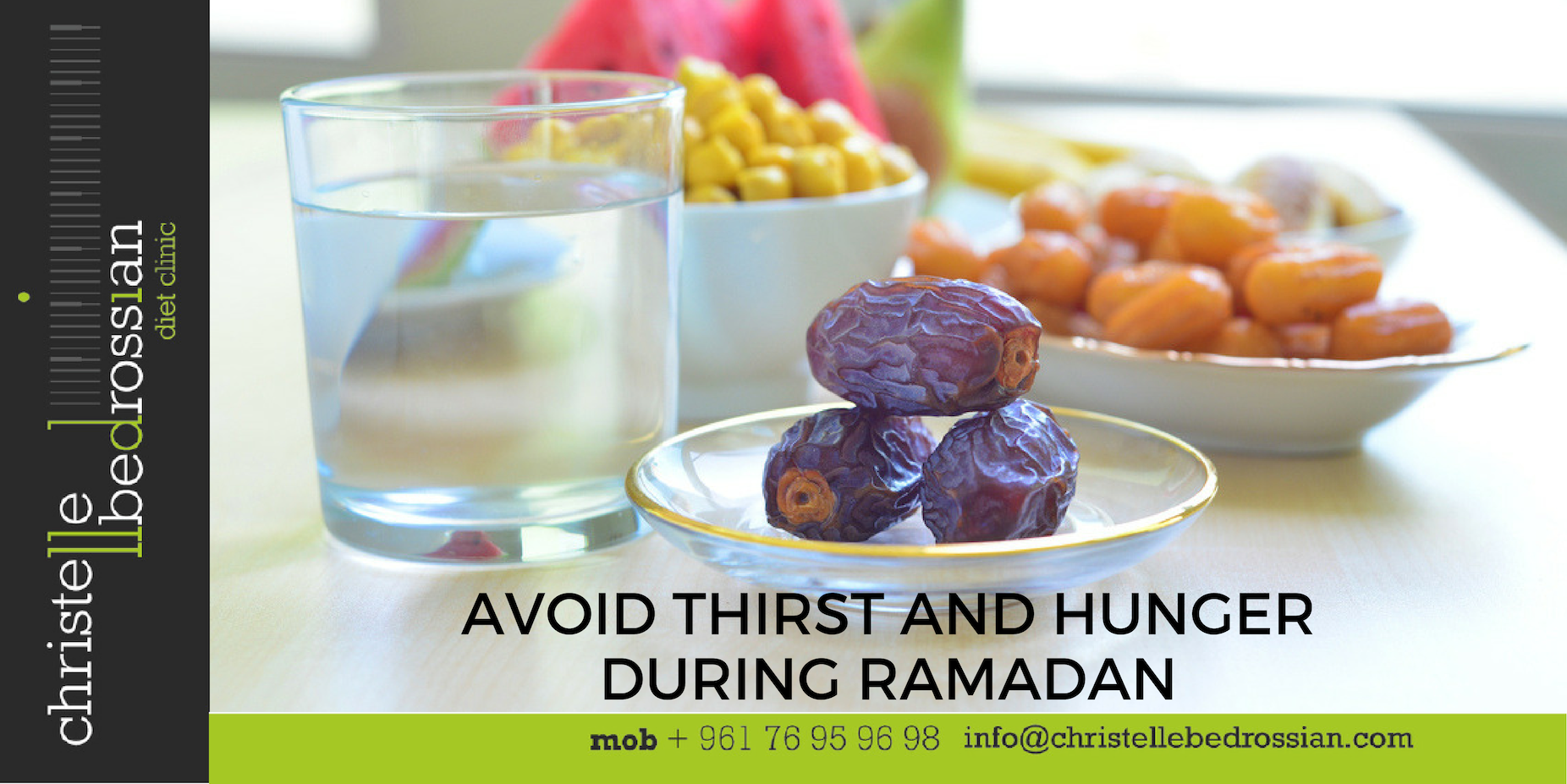 avoid thirst and hunger in ramadan
