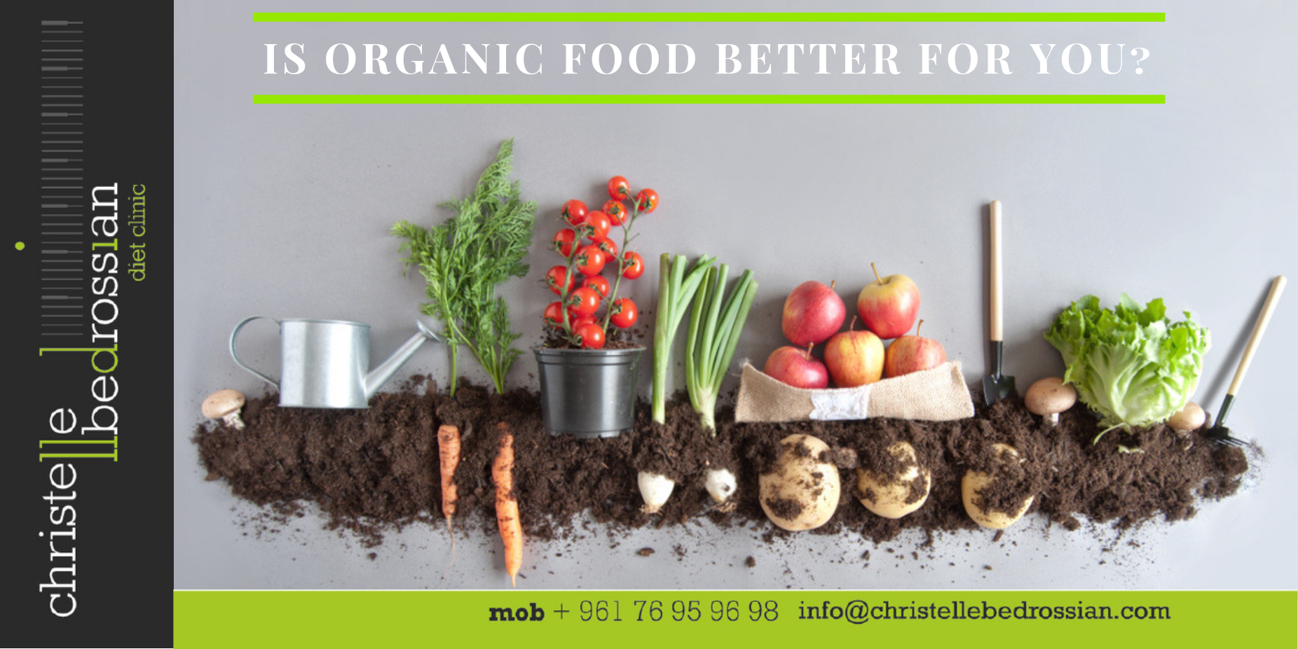 is organic food better for you
