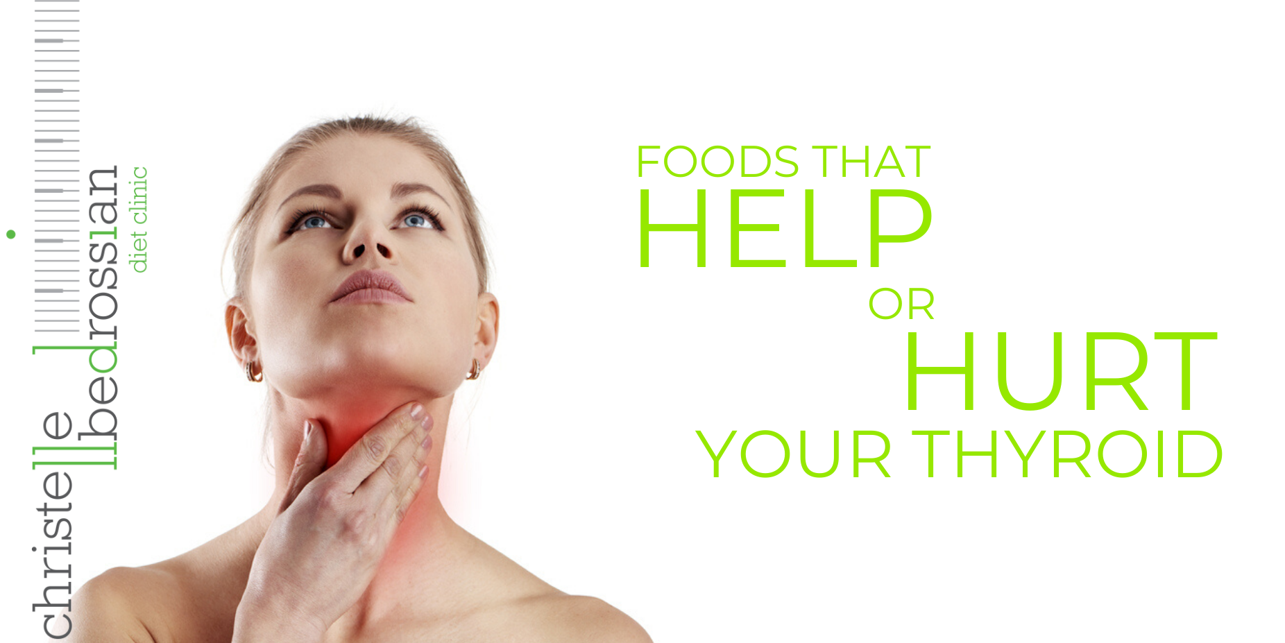 Foods that help or hurt your thyroid