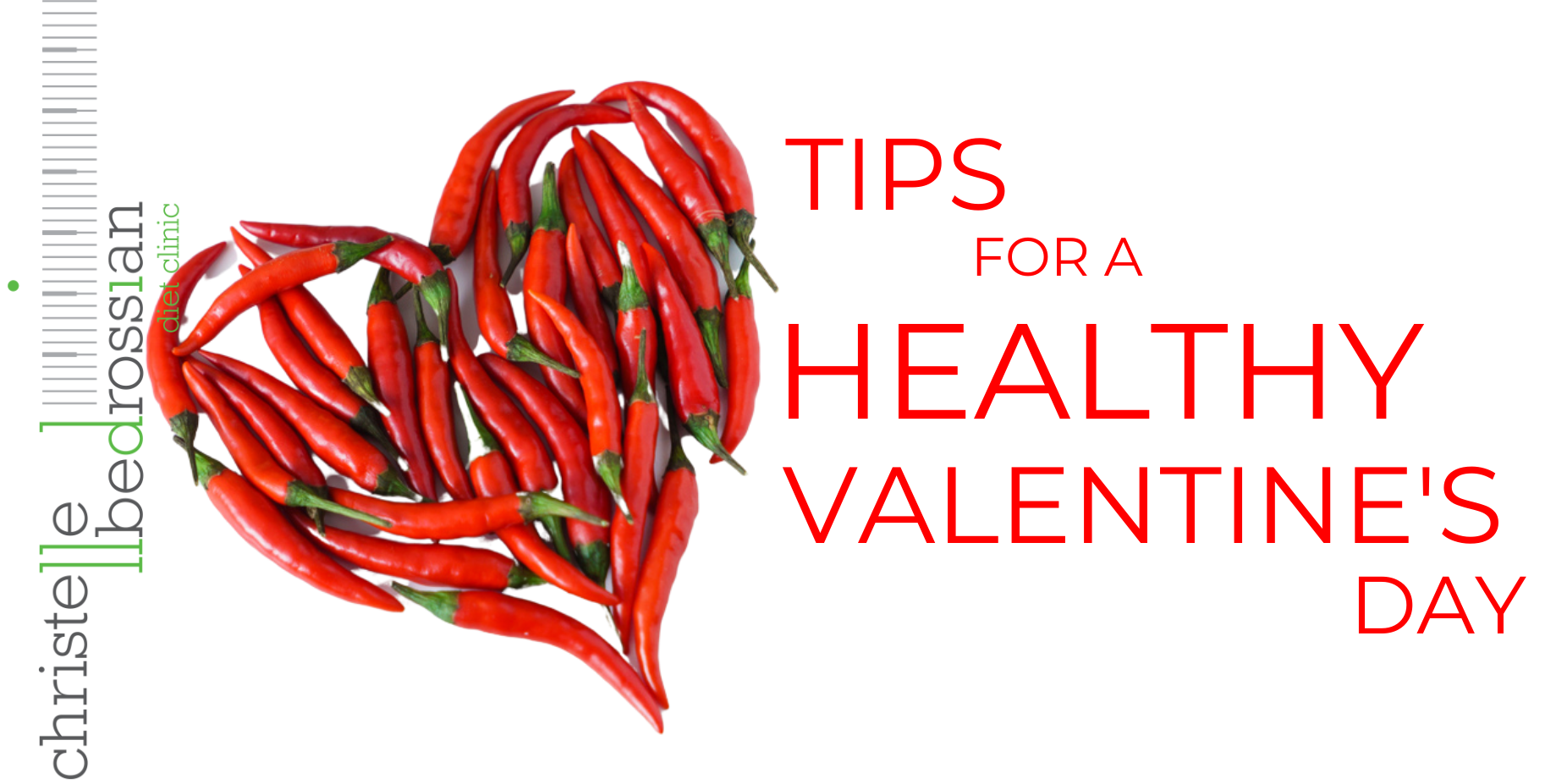 Tips for a healthy valentine's day