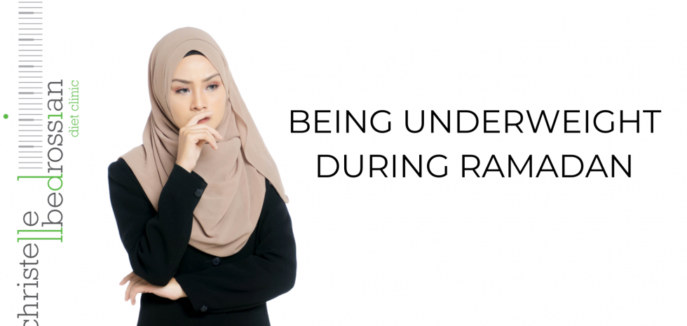 being underweight during ramadan